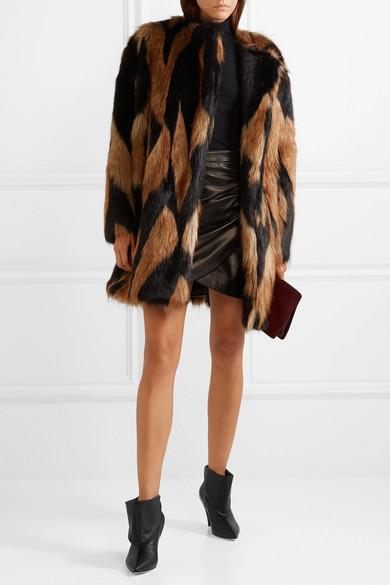 Givenchy aus | Umgeschlagene Ankle Boots aus Givenchy Leder dcb1e0