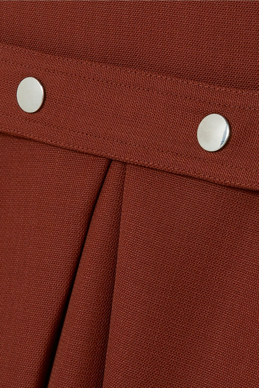 Victoria Beckham Pleated wool midi dress