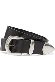 Tazee leather belt