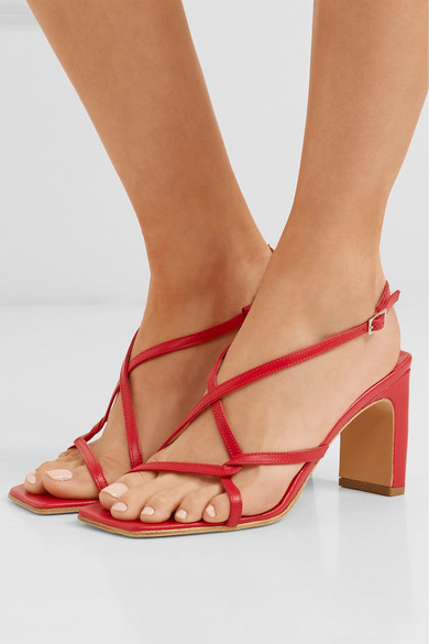 BY aus FAR | Carrie Slingback-Sandalen aus BY Leder 1dda5b