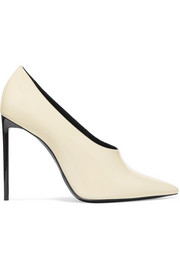 Saint Laurent Teddy patent-leather pumps