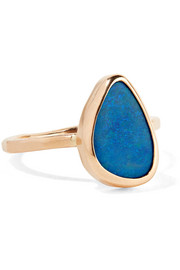 Melissa Joy Manning 14-karat gold opal ring