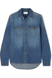 Current/Elliott The Effortless denim shirt