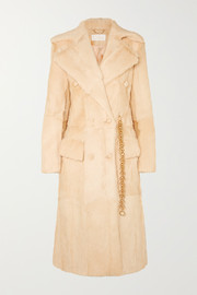 Chloé Double-breasted shearling coat