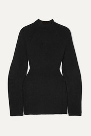 Chloé Cutout ribbed-knit sweater