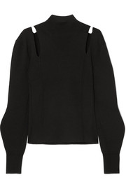 Chloé Cutout wool turtleneck sweater