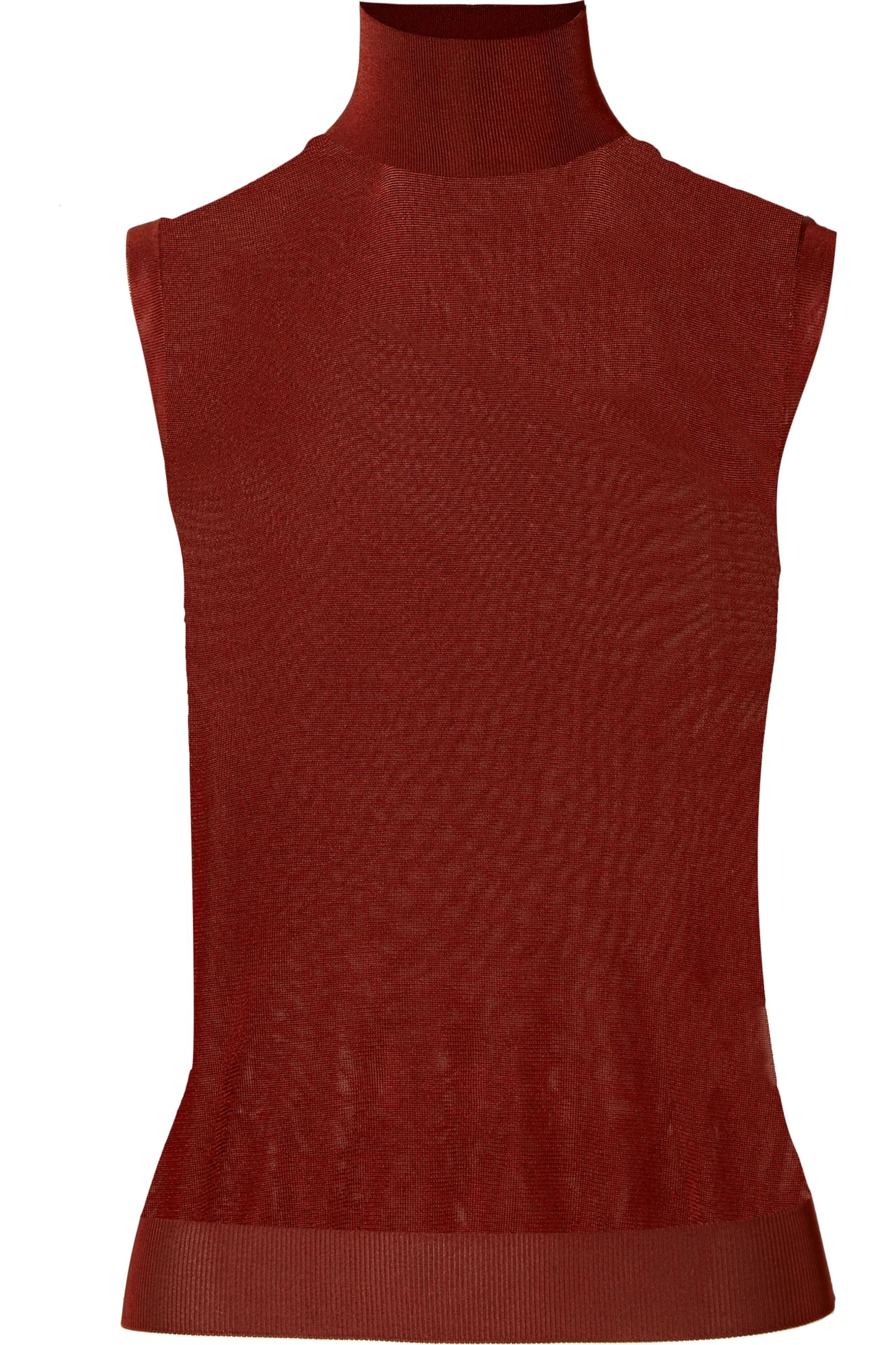 Chloé Knitted turtleneck top