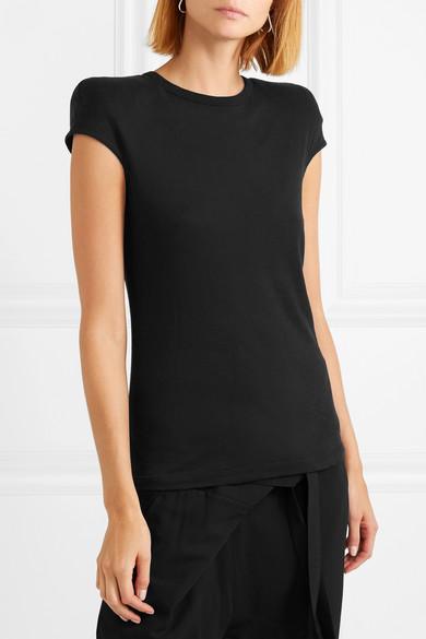 Ann Demeulemeester Shirts Cotton-jersey T-shirt
