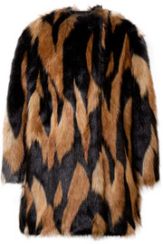Givenchy Oversized faux fur coat