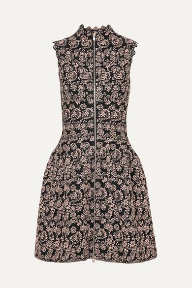 Jaquard Knit Mini Dress by Alaïa