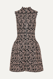 Alaïa Jaquard-knit mini dress