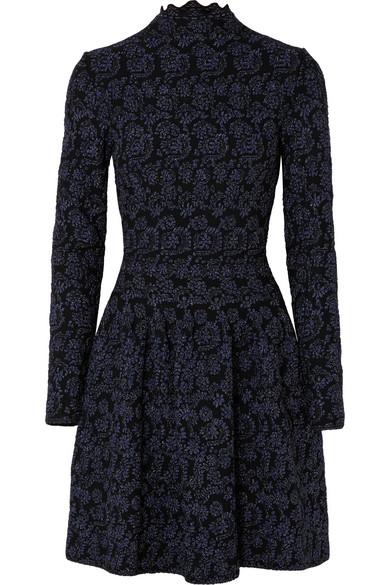 a4c05b83 Alaïa | Metallic jacquard-knit dress | NET-A-PORTER.COM