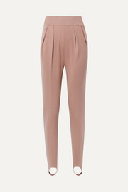 Alaïa Wool-blend slim-leg stirrup pants