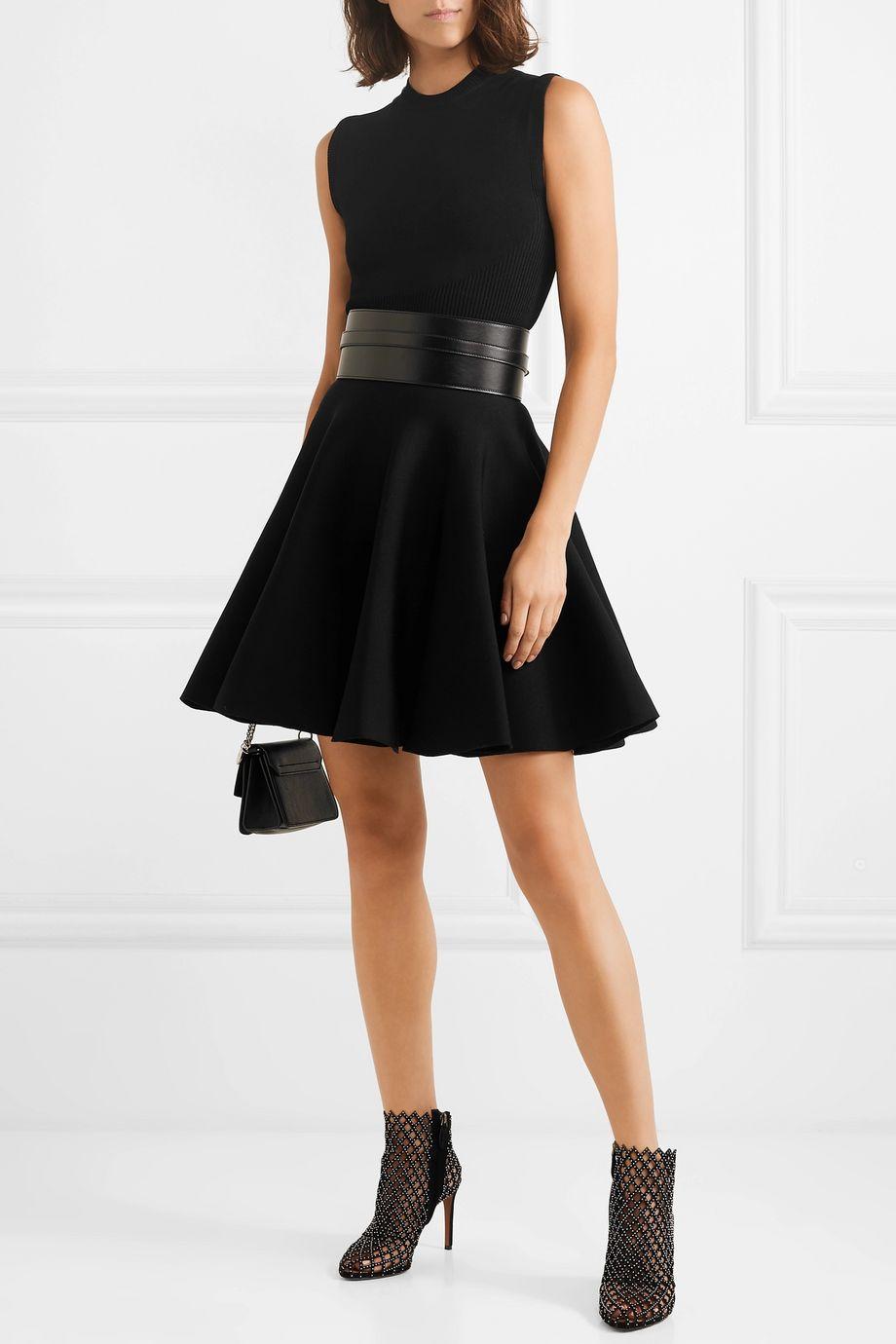 Alaïa Stretch-knit mini skirt