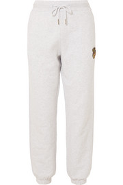 Kith Chelsea appliquéd cotton-jersey track pants