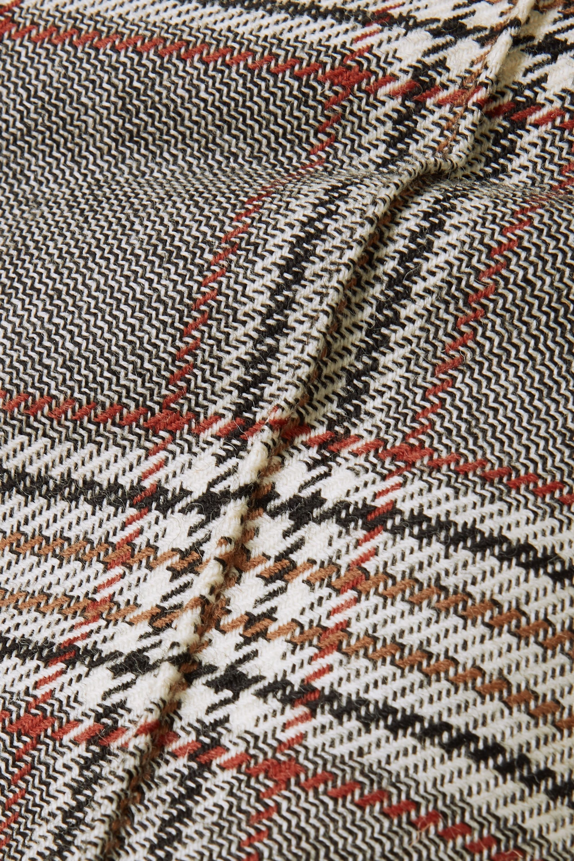 Joseph Checked wool flared pants