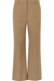 Rone wool-gabardine wide-leg pants