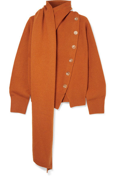 JosephDraped wool and sweaterNET cashmere A PORTER COM blend ARq453jL