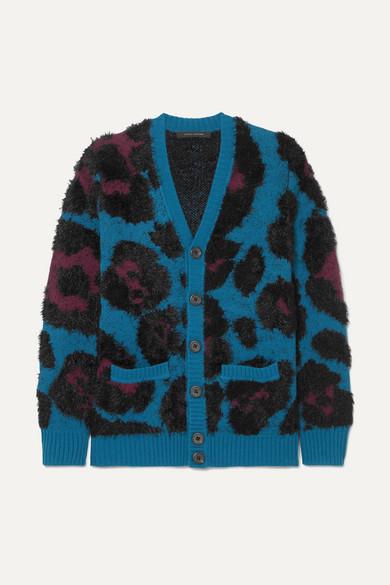 Marc Jacobs - Jacquard-knit Cardigan - Blue
