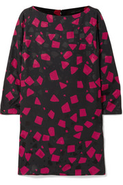 Marc Jacobs Printed crepe-jacquard mini dress