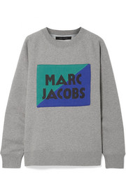 Marc Jacobs Appliquéd cotton-jersey sweatshirt