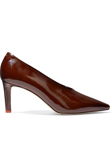 AEYDE River Patent-Leather Pumps