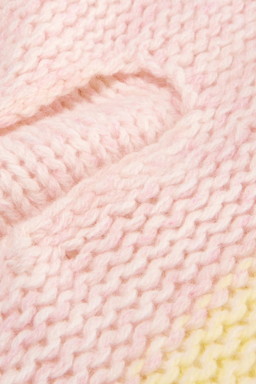 CALVIN KLEIN 205W39NYC Color-block wool balaclava