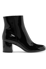 Margaux 65 patent-leather ankle boots