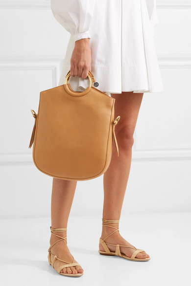 ff5e889b94 See By Chloé | Monroe textured-leather tote | NET-A-PORTER.COM