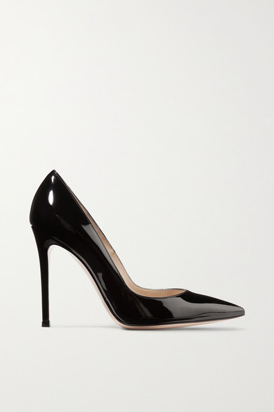105 patent-leather pumps from NET-A-PORTER