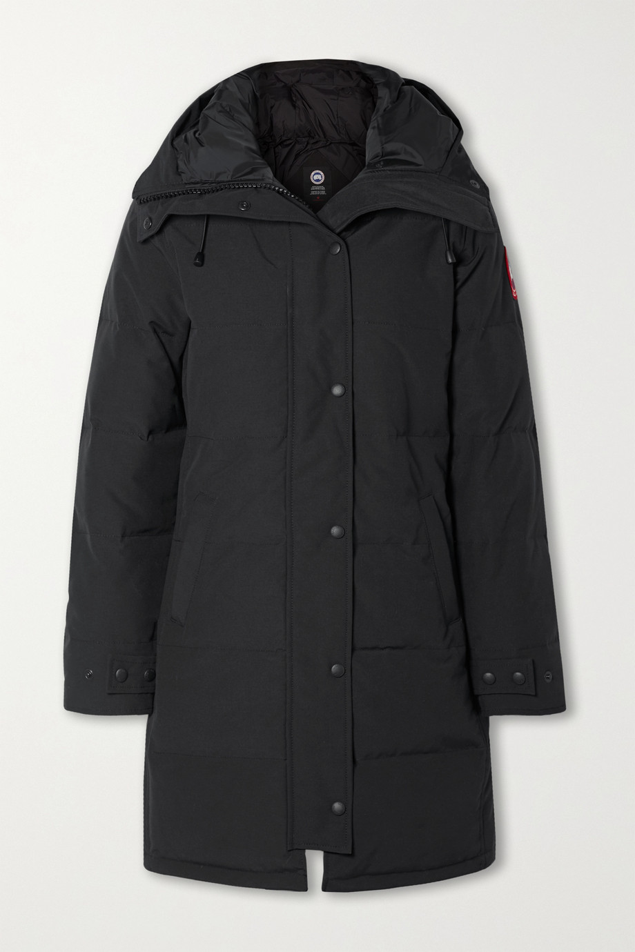 Canada Goose Shelburne hooded quilted shell down parka