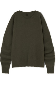 Unravel Project Oversized wool and cashmere-blend sweater