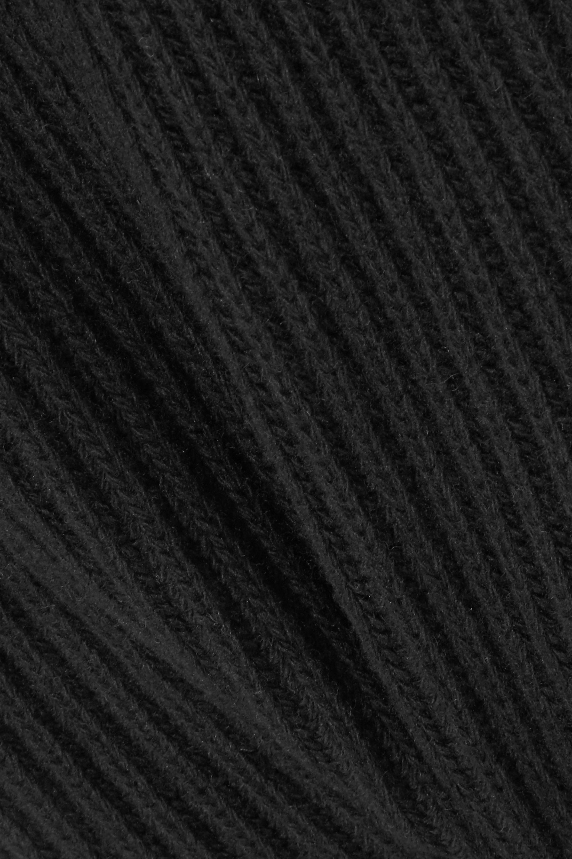 Antonio Berardi Haut à col roulé en laine et cachemire mélangés côtelés