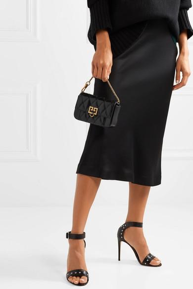 f3f106696a4 Givenchy   Pocket mini quilted leather shoulder bag   NET-A-PORTER.COM