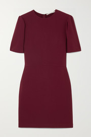Stella McCartney Cutout stretch-cady mini dress