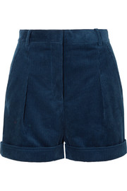 Stella McCartney Cotton-corduroy shorts