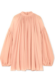 Stella McCartney Silk-georgette top
