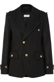 Saint Laurent Manteau en laine