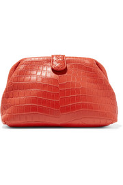 Lauren 1980 crocodile clutch