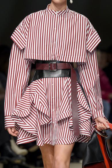 Alexander Mcqueen Belts Leather waist belt