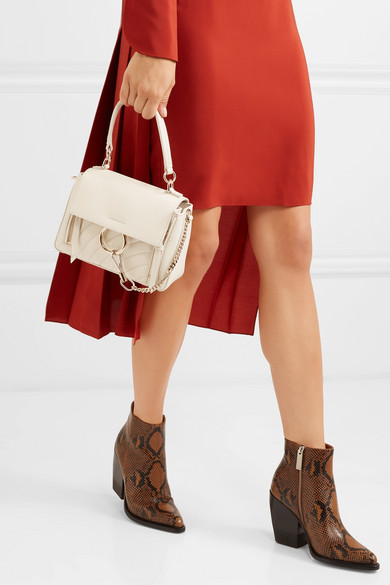 8c17e88d9 Chloé   Faye Day small quilted leather shoulder bag   NET-A-PORTER.COM