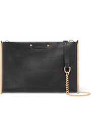 Chloé Roy small textured-leather shoulder bag