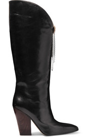 Magda Butrym Holland embellished leather knee boots