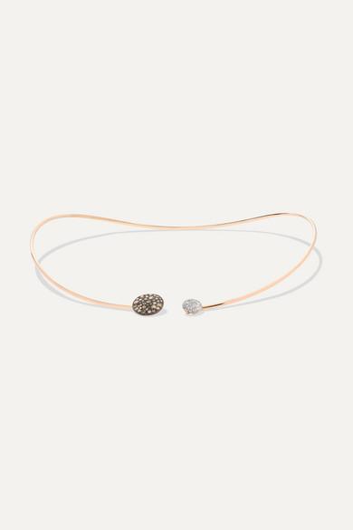 Pomellato - Sabbia 18-karat Rose Gold Diamond Choker - one size
