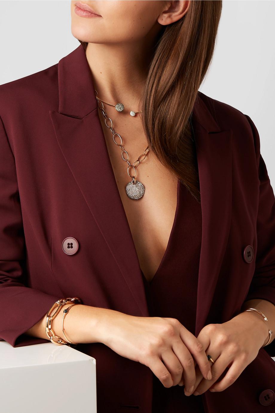 Pomellato Tour de cou en or 18 carats et diamants Sabbia