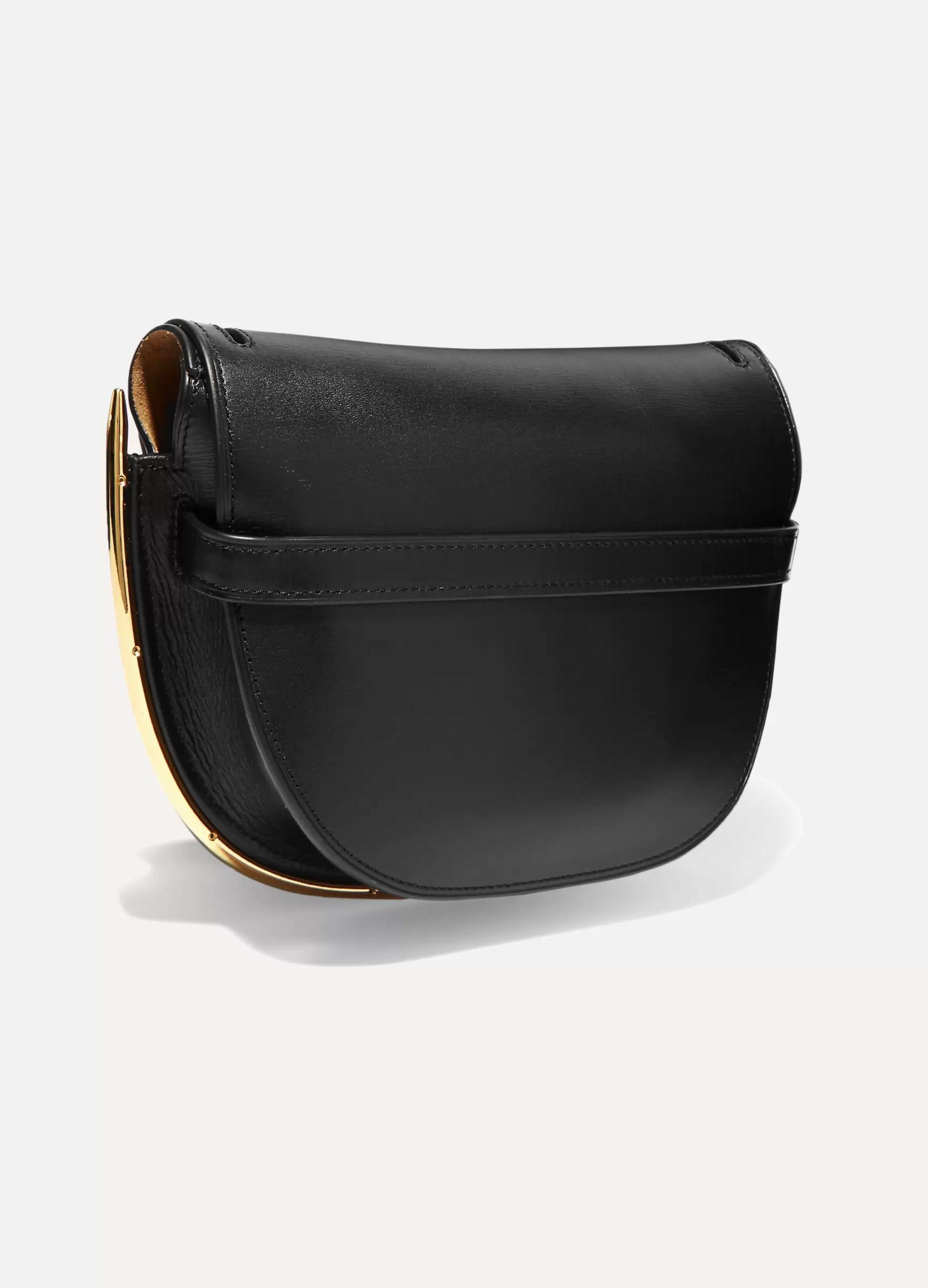 Loewe Gate kleine Schultertasche aus strukturiertem Leder mit Verzierung
