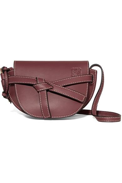 143ee6f298ff Loewe | Gate mini leather shoulder bag | NET-A-PORTER.COM
