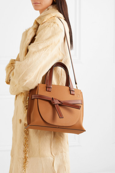 ddbe85a047 Loewe. Gate small textured-leather tote.  2