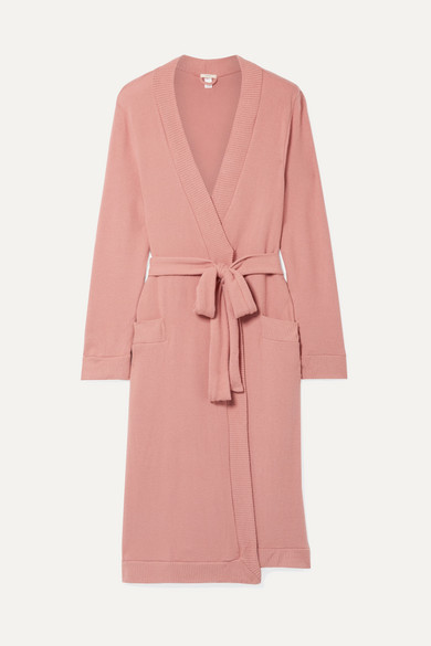 Cozy Time Modal-Blend Robe in Antique Rose