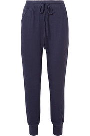 The Tie Runner modal-blend track pants